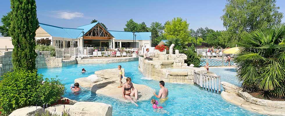 camping Indre et Loire avec parc aquatique