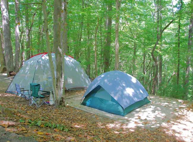camping isle
