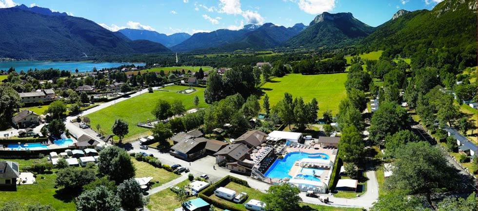 Vacances en bord de lac à Annecy