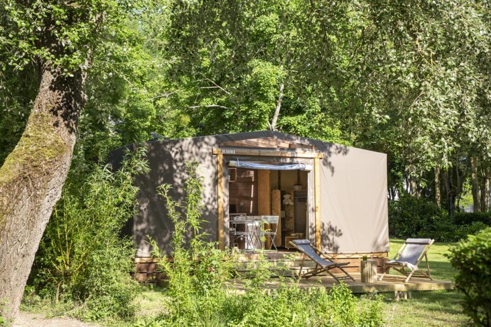Des vacances en camping à Montreuil Bellay