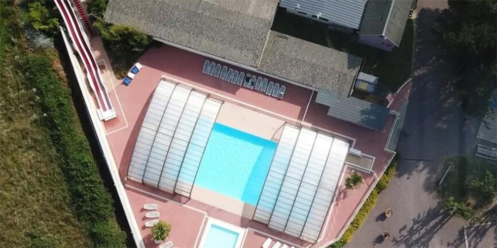 camping normandie avec piscine couverte chauffée